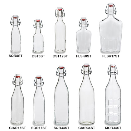 Swing Top Bottles