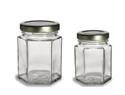 Hexagon Jars