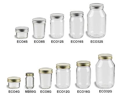 Mason Jars (Canning Jars) with Standard Lids