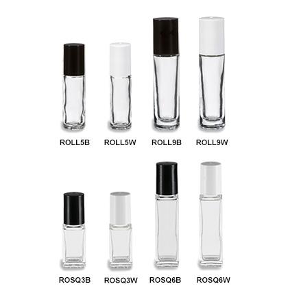 Glass Roll On Bottles